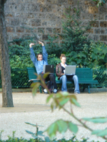 Wifi in the park
