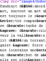French HTML Code