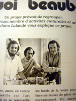 Renzo Piano, Gianfranco Franchini, Richard Rogers