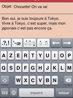 Question : How can i use French accent code on the iPhone ?