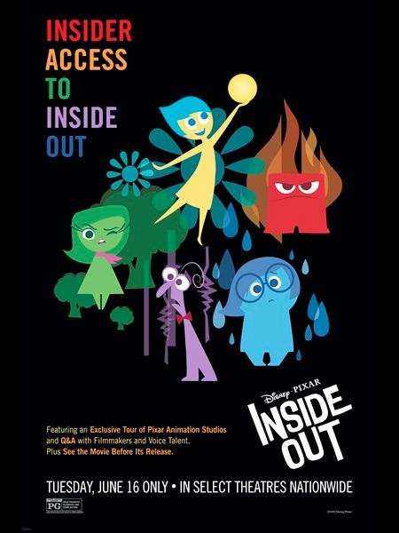 Pixar – Inside Out