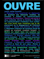 OUVRE / OPEN